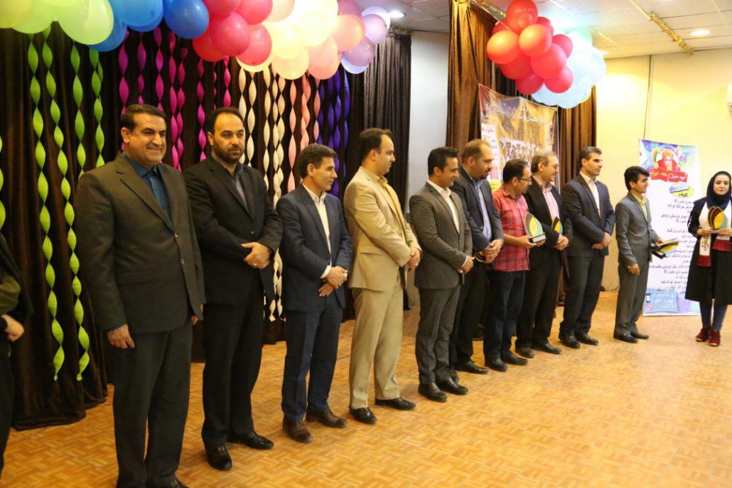 جشن پایان دوره نمایندگی مرکزی  آباده با حضور جناب دکتر زاده باقری