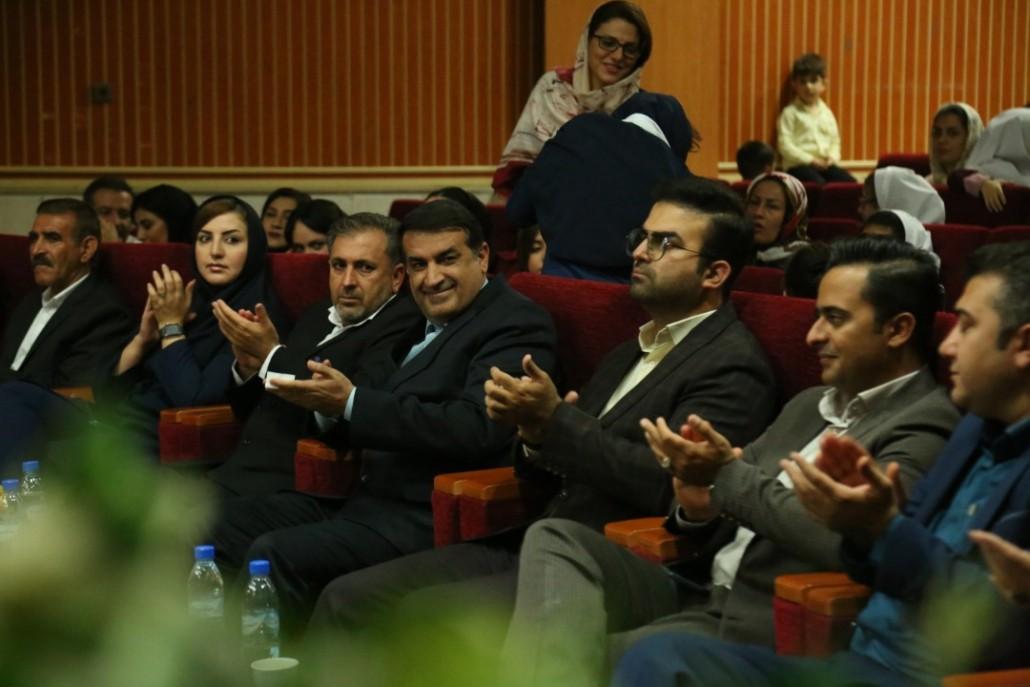 حضور دکتر مسعود زاده باقری در مراسم افتتاحیه نمایندگی مرکزی ابریشمی
