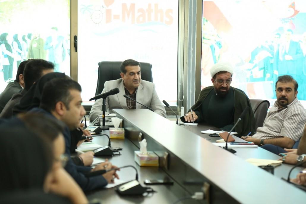 نهمین جلسه هم اندیشی  جشنواره ایمت 2020 کیش با حضور دکتر مسعود زاده باقری