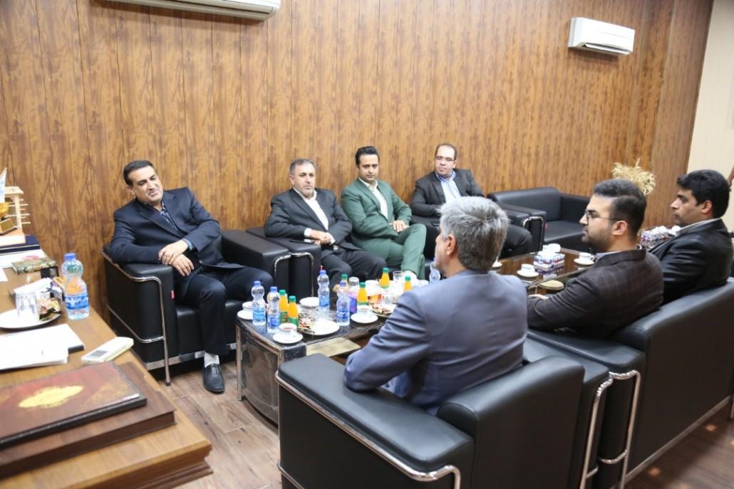 جلسه  دکتر مسعود زاده باقری با  فرماندار محترم شهرستان بستک
