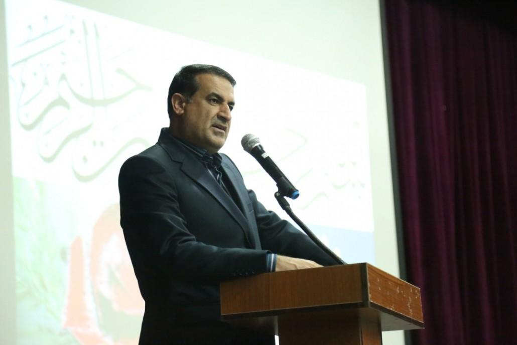 جلسه فرزند پروری با سخنرانی جناب  دکتر مسعود زاده باقری در بستک