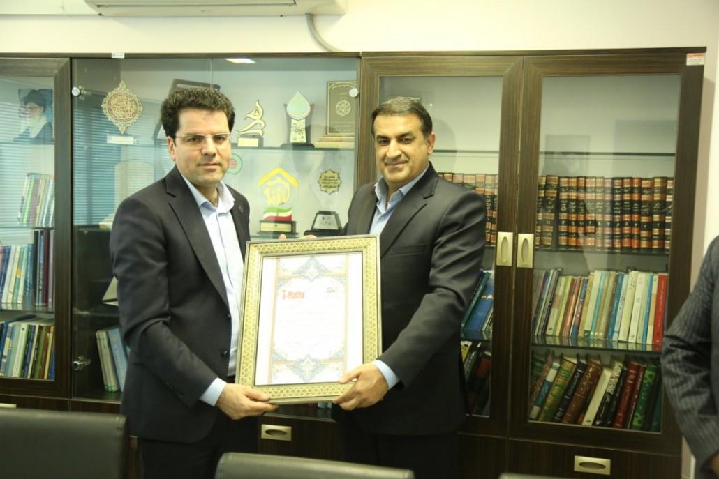 دیدارجناب دکتر مسعود زاده باقری با مدیر کل تامین اجتماعی استان فارس