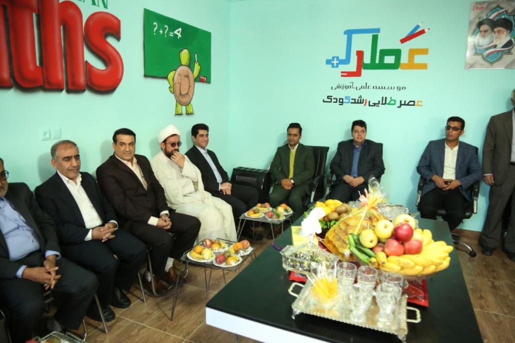 افتتاح ساختمان نمایندگی مرکزی شهرستان سپیدان با حضور جناب دکتر مسعود زاده باقری