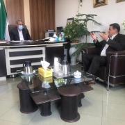 دیدار جناب دکتر زاده باقری با جناب دکتر زینی وند معاون محترم وزیر آموزش و پرورش
