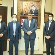 دیدار جناب مهندس عباسی با جناب دکتر زاده باقری