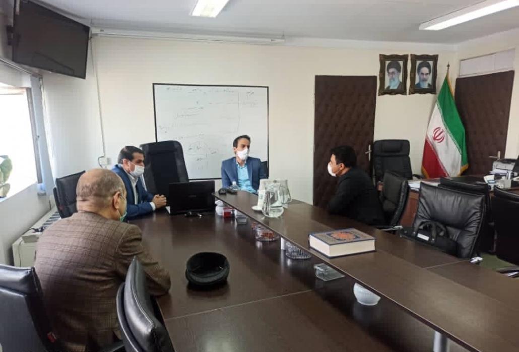 جلسات دکتر زاده باقری با دکتر کاظمی و دکتر صالح