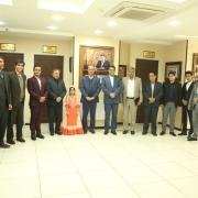 جلسه هم اندیشی دانشگاه آزاد اسلامی شیراز و موسسه عطرک