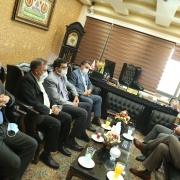 بازدید جناب دکتر علی رضا عسکری و جناب دکتر ساجدی از دفتر مرکزی موسسه عطرک و دیدار با جناب دکتر مسعود زاده باقری.